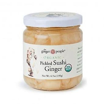 The Ginger People - Organic Pickled Sushi Giner 190g