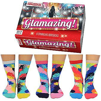 United Oddsocks Glamazing Socks Gift Set For Women