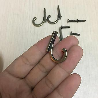 Key Mini Hangers - Antieke stijl Metal Bronze Hook