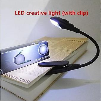 High Quality Creative Led Book Reading Light Learning Mini Table Lamp Outdoor Fishing Light Travel Portable Light