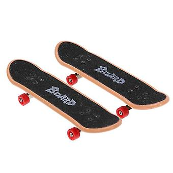 Training Games Finger Skating Board With Ramp Parts Track Kids Toys Gift - Kate Park Fingerboard Mini Skateboard Toys