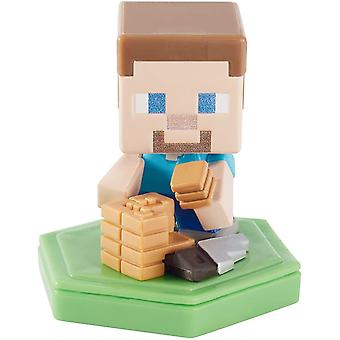Minecraft Earth Boost Crafting Steve Mini Figur