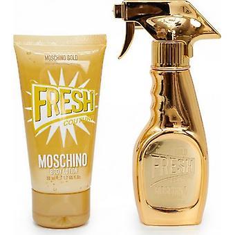 Moschino Fresh Gold 30ml Gift Set