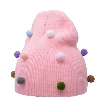 Baby Girl Boy Winter Spring Autumn Hat Soft Warm Cap Knit Elastic Children Casual
