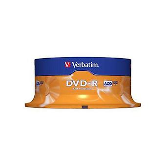 Verbatim Dvd R 25Pk vreteno 4,7 Gb 16X