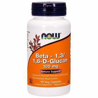 Now Foods Beta 1-3/1-6- D -Glucan, 100 mg, 90 Veg Caps