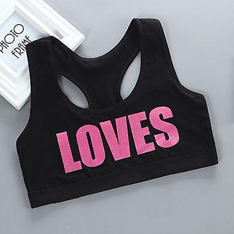 Children Girl Bra Underwear For Puberty - Theme Of Love Teenage Clothing