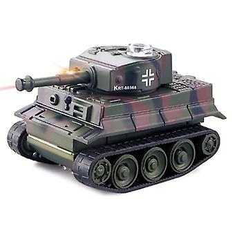 Super Mini Rc Tank Tiger Electronic Toys- Modèle, Imitate Scale Remote Radio