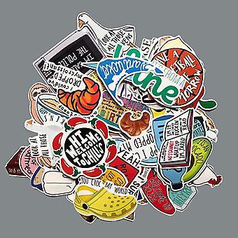 Waterdichte Vine Avocado Cartoon Stickers voor Skateboard -koffer