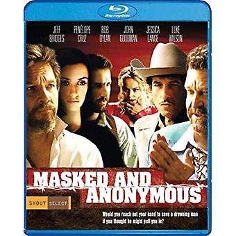 Masked & Anonymous [Blu-ray] USA import