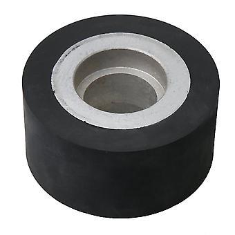 Belte kvern gummi hjul 6204 kulelager flat gummi kontakthjul 10x5cm
