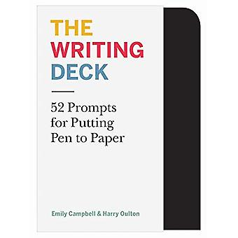 The Writing Deck: 52 Prompts for Putting Pen to� Paper