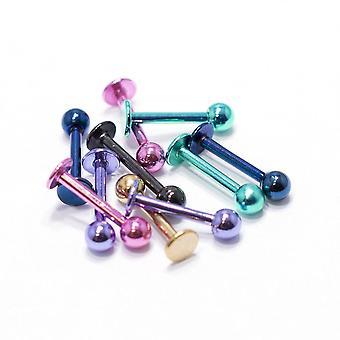 10 件阳极化钛螺柱 16g 拉布雷特单体软骨螺柱