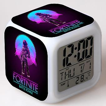 Colorful Multifunctional LED Children's Alarm Clock -Quinze dias #13