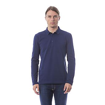 Verri Daniilo Long Sleeve Polo Blue Shirt