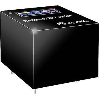 RECOM RAC05-15SK/277 AC/DC PSU (tulosta) 15 V 5 W