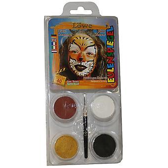 Eulenspiegel diseño-una cara paquete de pintura cara - león