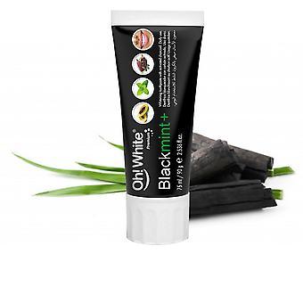 Oh! White Blackmint+ Dentífrico Blanqueador Con Carbón 75 Ml Unisex