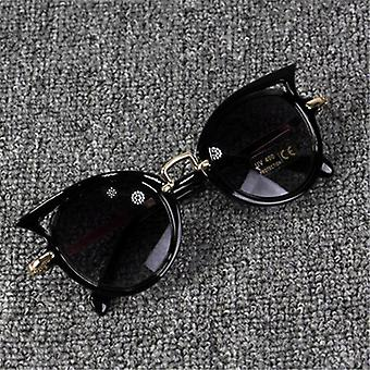 Kid Glasses Protection Outdoor Holiday Sunglasses, Cat Shape Sunglasses