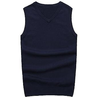Men's Pullover V-neck Sweater, Vests  Autumn And Winter, Casual