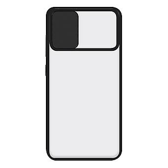Mobiltelefon sag med TPU Edge Samsung Galaxy A71 KSIX Duo Soft Cam Beskyt Sort