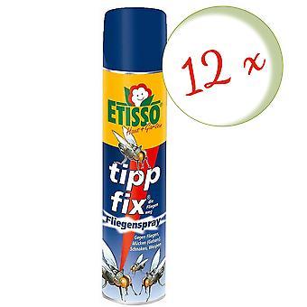 Sparset: 12 x FRUNOL DELICIA® Etisso® Tip fix Fly spray, 400 ml - ook tegen wespen