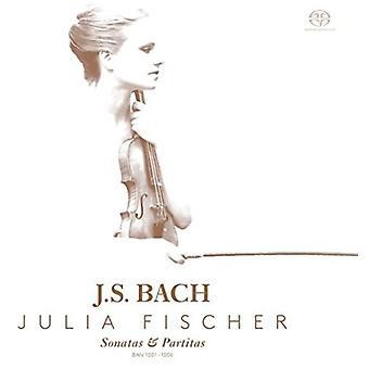 Bach, J.S. / Fischer - Sonatas & Partitas Solo Violin [SACD] USA import