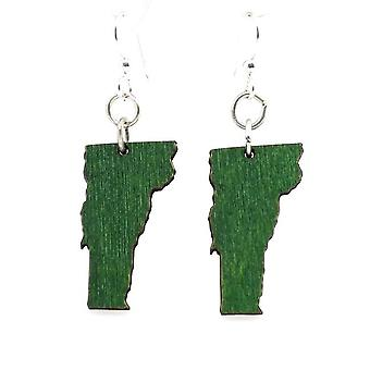 Vermont State Earrings