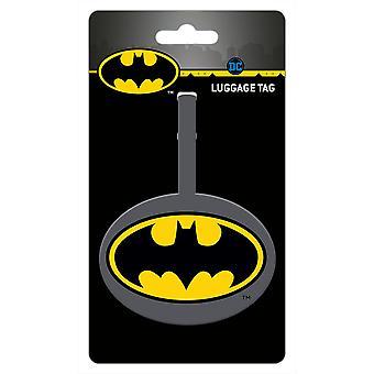 Batman Logo Bagaj Etiketi