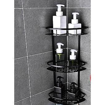 Alumiininen kulma suihku hylly -ei rei'itystä ja tyhjennysreiän suunnittelu