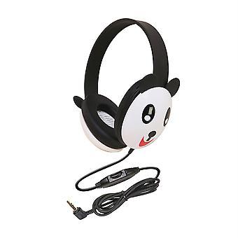 Listening First Animal-Themed Stereo Headphones, Panda