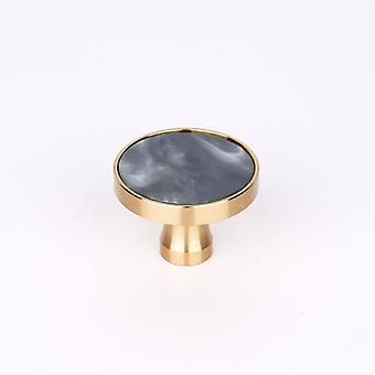 Brass Door Knobs And Handles For Cabinet Shell Resin