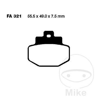 EBC SFA HH Rear Brake Pads SFA321HH Vespa GTV 300 ie Vie della Moda 2012-2013