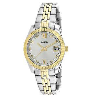 Fossil Women's Scarlette Silver Dial Watch - ES4949