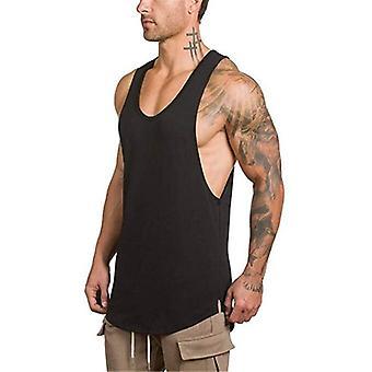 Seven Joe Cotton Sleeveless Shirts, Tank Top Men Fitness Singlet, Bodybuilding