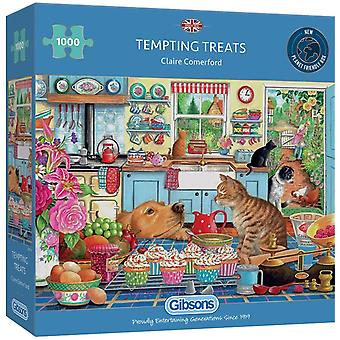 Gibsons 1000 Piece Tempting Treats Jigsaw Puzzle