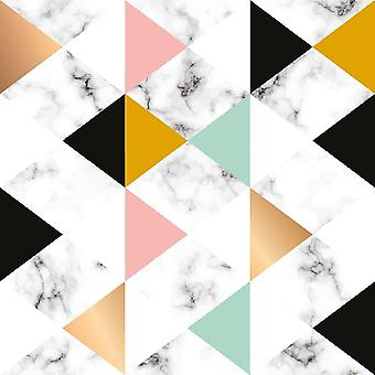 Soft Touch 4 Multicolor gedruckt Teppich aus Polyester, Baumwolle, L100xP150 cm