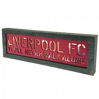 Liverpool FC Light Up Door Sign