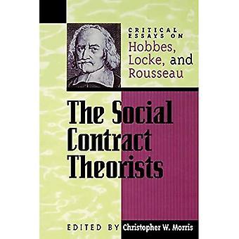 Den sociale kontraktoretikere: Kritiske Essays om Hobbes, Locke, og Rousseau (Critical Essays om Classics)