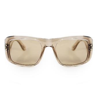 Tom Ford Aristotle Rectangular Sunglasses FT0731 20A 56