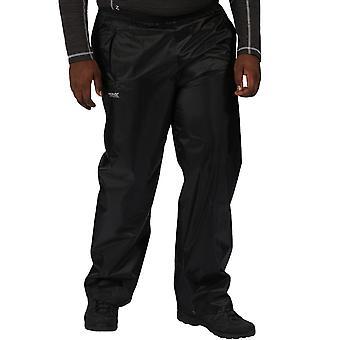 Régate Mens Stormbreak Outdoor Waterproof Walking Hiking Overtrousers - Noir