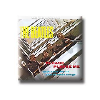 Il distintivo di Pin di metallo ufficiale nuovo Album dei Beatles Please Please Me