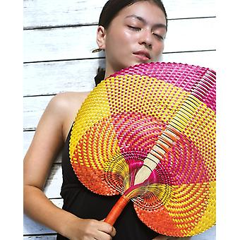 "Balinese Woven Hand Fan ""cakra"""