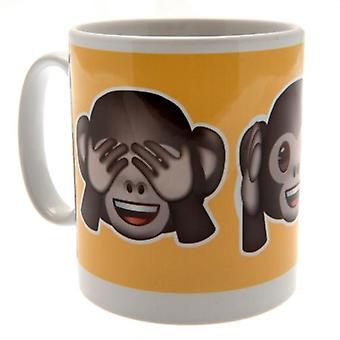 Emoji Mug Monkeys