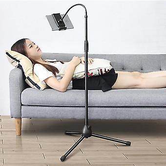 Justerbara infällbara golvställ telefonhållare