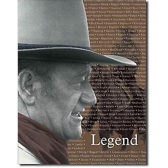 John wayne 'legend' metallimerkki