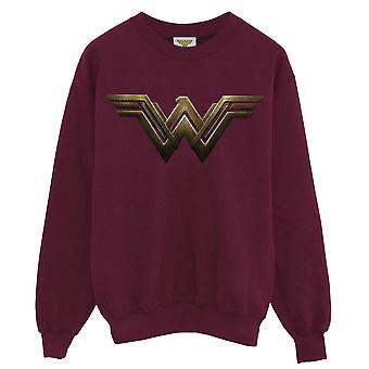 Wonder Woman Mens Logo Sweatshirt