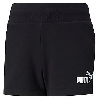 Puma Kids Girls Terry Shorts Tecido Esportes Calças Curtas Bottoms