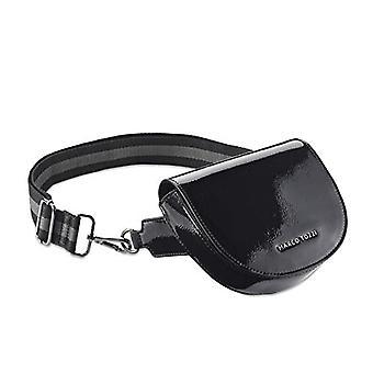 MARCO TOZZI Damen Handtasche 2-2-61006-25, 2-2-61006-25-Women's Bag, Black Patent, normal