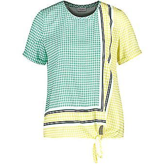 Gerry Weber T-Shirt 1/2 Arm, off White Ligh Lime Aloe, 48 Donna